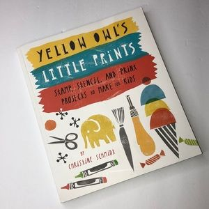 New kids book yellow owl's little paints